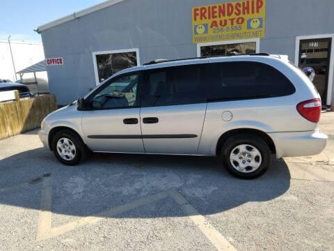 2003 Dodge Grand Caravan for sale at Friendship Auto Sales in Broken Arrow OK