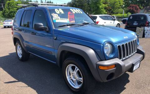 2004 Jeep Liberty for sale at Freeborn Motors in Lafayette, OR
