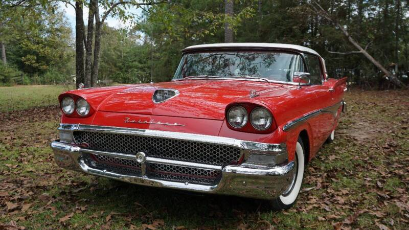 1958 Ford Fairlane Skyliner 500 for sale at VAP Auto Sales llc in Franklinton LA