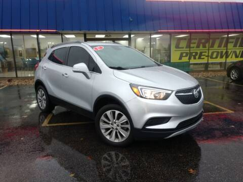 2017 Buick Encore for sale at CITY SELECT MOTORS in Galesburg IL