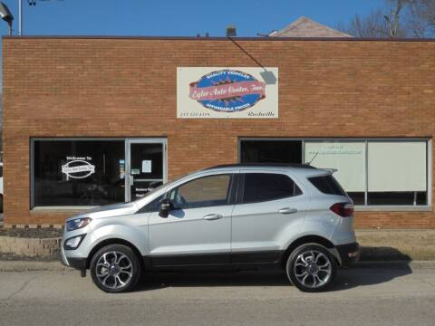 2020 Ford EcoSport for sale at Eyler Auto Center Inc. in Rushville IL