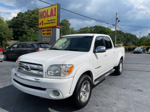 2006 Toyota Tundra for sale at No Full Coverage Auto Sales in Austell GA
