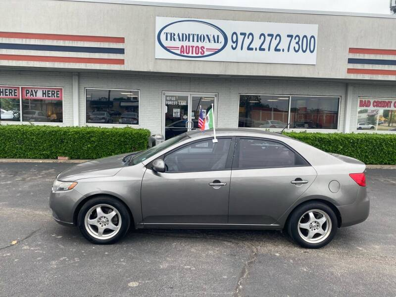 2011 Kia Forte for sale at Traditional Autos in Dallas TX