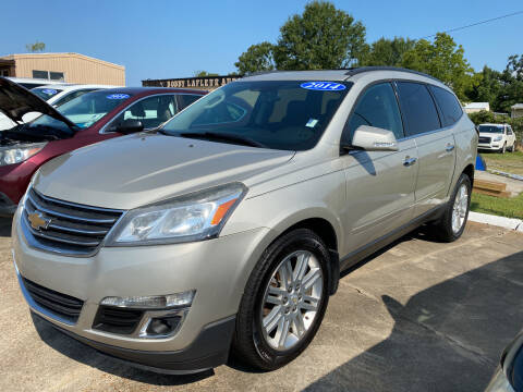 2014 Chevrolet Traverse for sale at Bobby Lafleur Auto Sales in Lake Charles LA