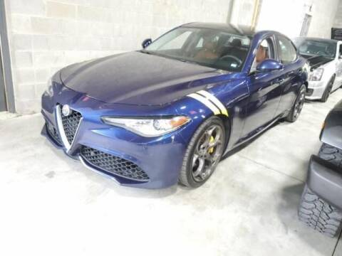 2017 Alfa Romeo Giulia for sale at Cj king of car loans/JJ's Best Auto Sales in Troy MI