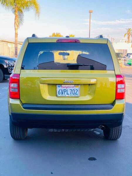 2012 Jeep Patriot for sale at BEST WAY MOTORS INC in San Diego CA
