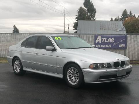 2003 BMW 5 Series for sale at Atlas Automotive Sales in Hayden ID