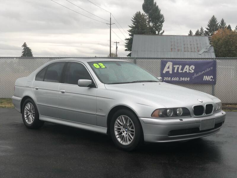 2003 BMW 5 Series for sale at Atlas Automotive Sales in Hayden ID