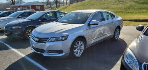 2019 Chevrolet Impala for sale at Gallia Auto Sales in Bidwell OH