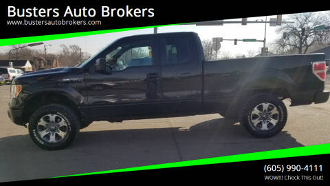 2014 Ford F-150 for sale at Busters Auto Brokers in Mitchell SD