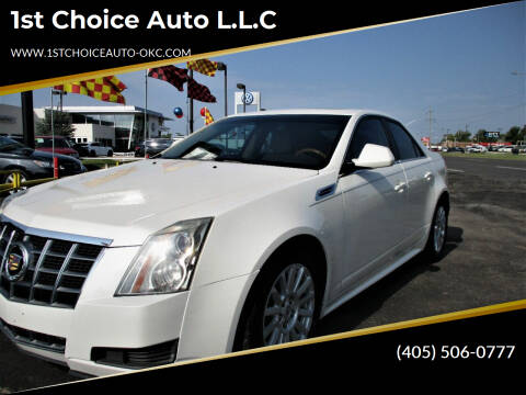2012 Cadillac CTS for sale at 1st Choice Auto L.L.C in Oklahoma City OK