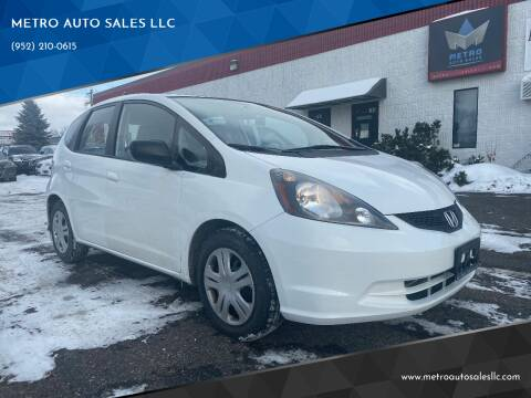 2009 Honda Fit for sale at METRO AUTO SALES LLC in Blaine MN