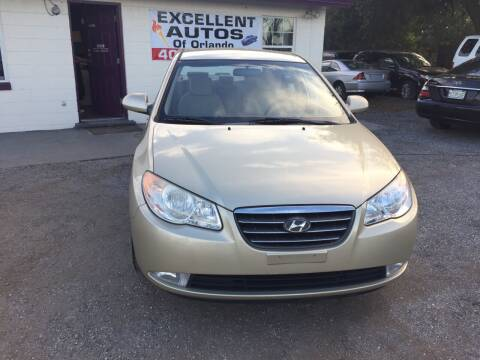 2007 Hyundai Elantra for sale at Excellent Autos of Orlando in Orlando FL