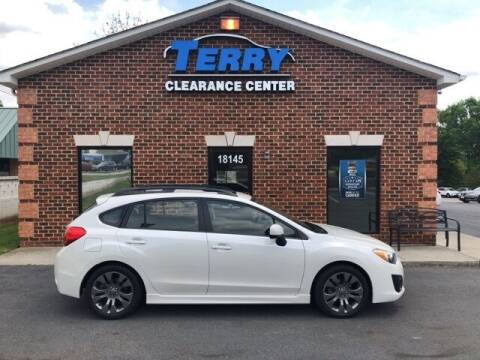 2014 Subaru Impreza for sale at Terry Clearance Center in Lynchburg VA