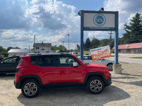 2017 Jeep Renegade for sale at Corry Pre Owned Auto Sales in Corry PA