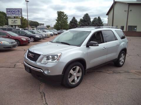 2011 GMC Acadia for sale at Budget Motors - Budget Acceptance in Sioux City IA