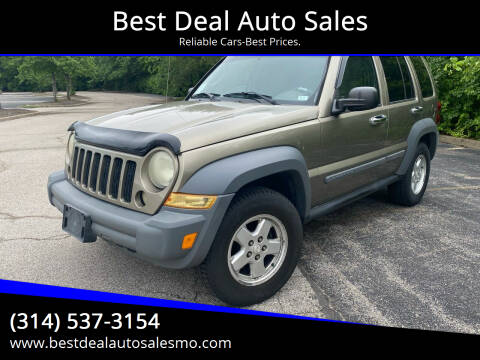 2005 Jeep Liberty for sale at Best Deal Auto Sales in Saint Charles MO