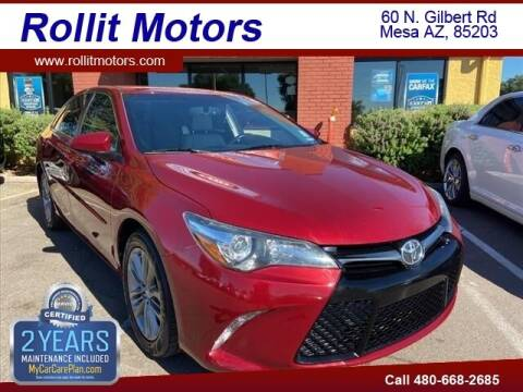 2015 Toyota Camry for sale at Rollit Motors in Mesa AZ