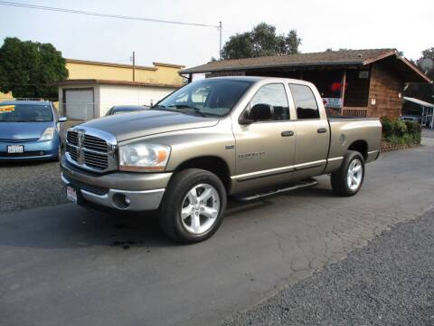 2006 Dodge Ram Pickup 1500 for sale at Manzanita Car Sales in Gridley CA