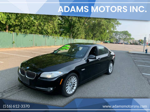 2013 BMW 5 Series for sale at Adams Motors INC. in Inwood NY