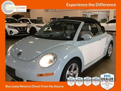 2010 Volkswagen New Beetle Convertible for sale at Dallas Auto Finance in Dallas TX