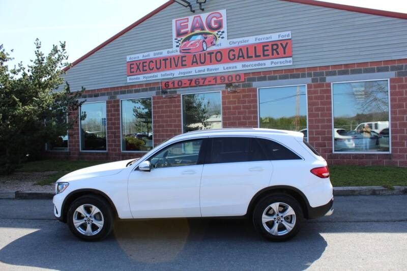 2018 Mercedes-Benz GLC for sale at EXECUTIVE AUTO GALLERY INC in Walnutport PA