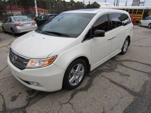 2013 Honda Odyssey for sale at King of Auto in Stone Mountain GA
