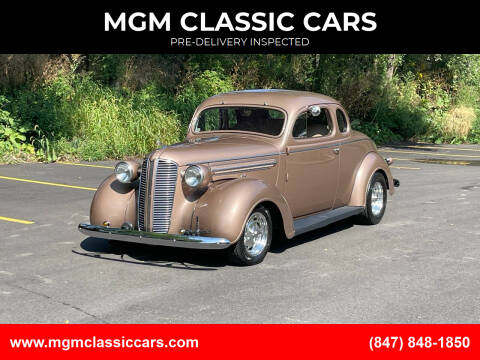 1937 Dodge Coupe for sale at MGM CLASSIC CARS-New Arrivals in Addison IL