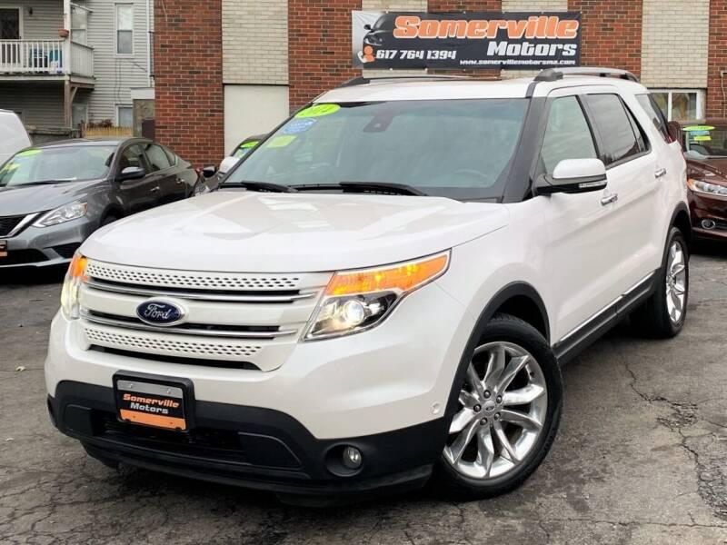 2014 Ford Explorer for sale at Somerville Motors in Somerville MA