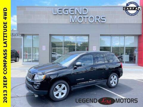 2013 Jeep Compass for sale at Legend Motors of Waterford in Waterford MI