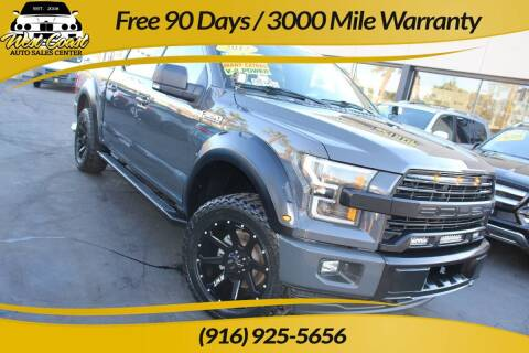 2017 Ford F-150 for sale at West Coast Auto Sales Center in Sacramento CA