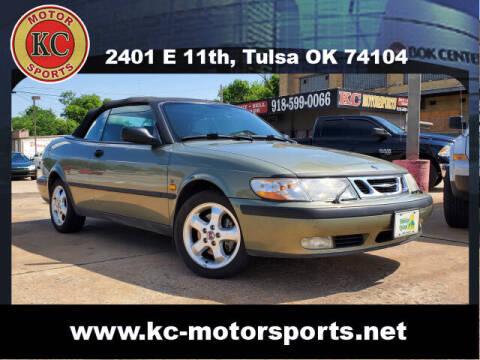 1999 Saab 9-3 for sale at KC MOTORSPORTS in Tulsa OK