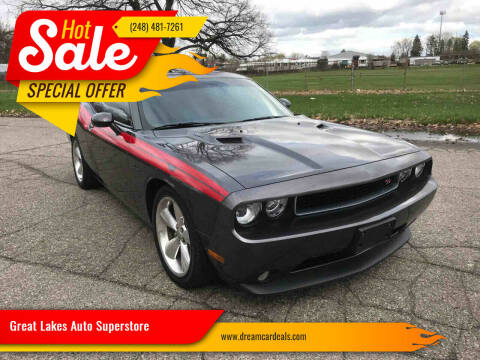2014 Dodge Challenger for sale at Great Lakes Auto Superstore in Waterford Township MI