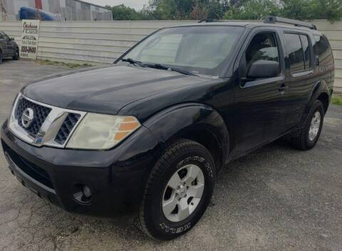 2008 Nissan Pathfinder for sale at Jackson Motors Used Cars in San Antonio TX