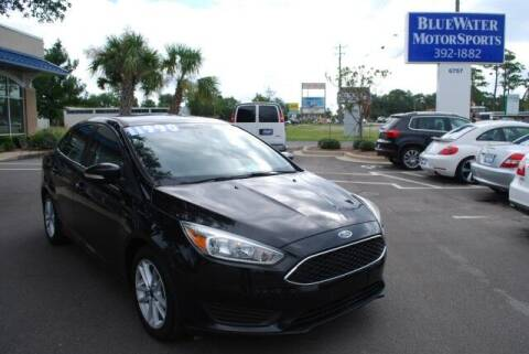 2015 Ford Focus for sale at BlueWater MotorSports in Wilmington NC