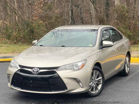 2016 Toyota Camry for sale at Diamond Automobile Exchange in Woodbridge VA