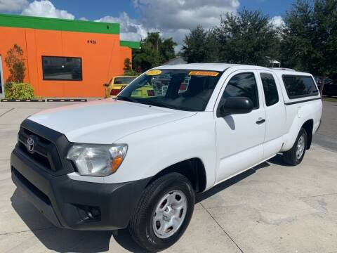 2015 Toyota Tacoma for sale at Galaxy Auto Service, Inc. in Orlando FL