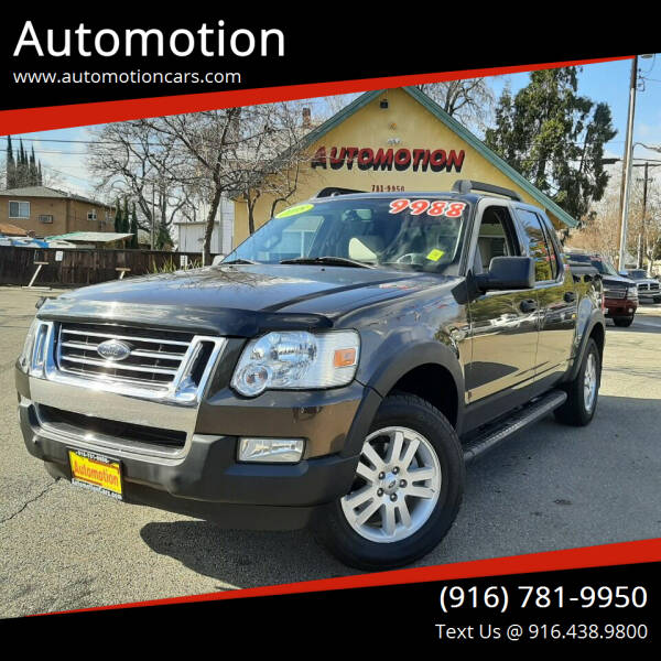 2008 Ford Explorer Sport Trac for sale at Automotion in Roseville CA