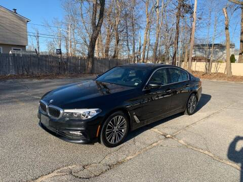 2018 BMW 5 Series for sale at Long Island Exotics in Holbrook NY