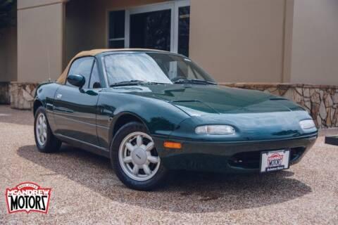 1991 Mazda MX-5 Miata for sale at Mcandrew Motors in Arlington TX