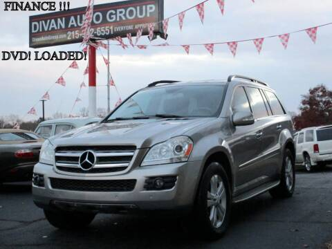 2008 Mercedes-Benz GL-Class for sale at Divan Auto Group in Feasterville PA