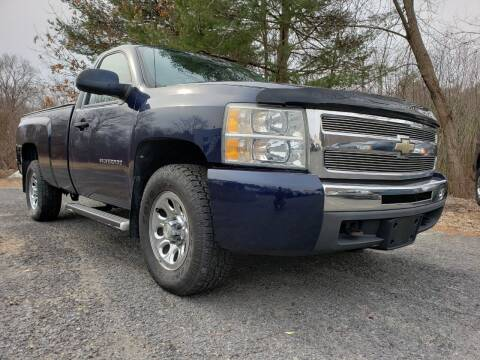 2010 Chevrolet Silverado 1500 for sale at Jacob's Auto Sales Inc in West Bridgewater MA