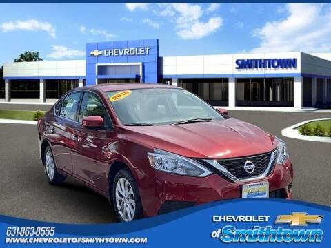 2018 Nissan Sentra for sale at CHEVROLET OF SMITHTOWN in Saint James NY