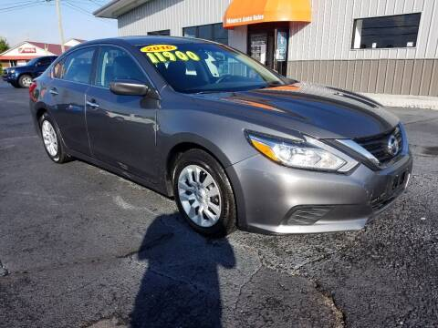 2016 Nissan Altima for sale at Moores Auto Sales in Greeneville TN