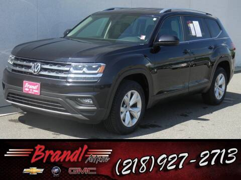 2018 Volkswagen Atlas for sale at Brandl GM in Aitkin MN