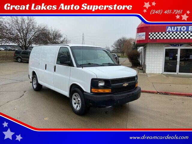 2014 Chevrolet Express Cargo for sale at Great Lakes Auto Superstore in Waterford Township MI
