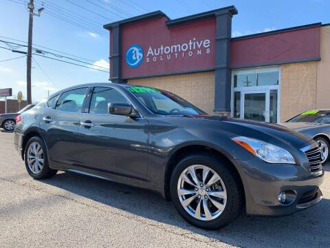2012 Infiniti M37 for sale at Automotive Solutions in Louisville KY