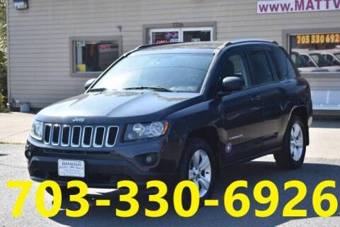 2014 Jeep Compass for sale at MANASSAS AUTO TRUCK in Manassas VA