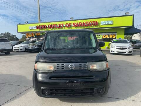 2009 Nissan cube for sale at Auto Outlet of Sarasota in Sarasota FL