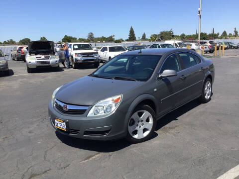 2007 Saturn Aura for sale at My Three Sons Auto Sales in Sacramento CA